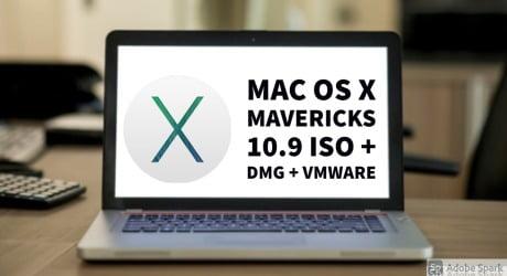 Mac OS X Mavericks 10.9 ISO Download [DMG + Vmware 5GB]